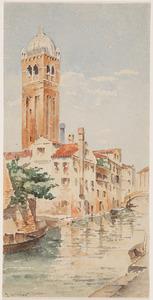 De Rio di San Fosca in Venetië vanuit het zuidoosten