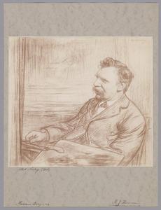 Portret van Albert Neuhuys (1844-1914)