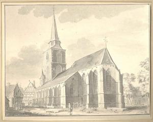 De kerk te Winterswijk vanuit het zuidoosten
