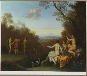 Landschap; de Apulische herder wordt in een oleander veranderd (Ovidius Metamorfosen)