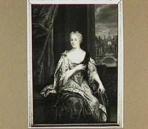 Portret van Maria Louise van Hessen-Kassel, prinses van Oranje, genaamd Maike-Meu