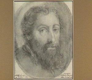 Portret van de kunstenaar Giulio Romano (1499-1546)