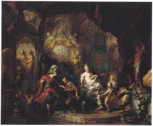 Apelles voor Alexander de Grote