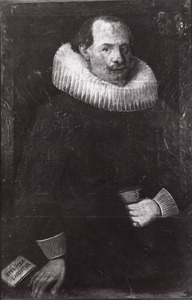Portret van Bernard of Claes Hondebeke (?-?)