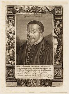 Portret van George Cassander (1513-1566)