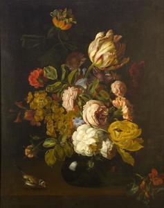 Boeket bloemen in vaas