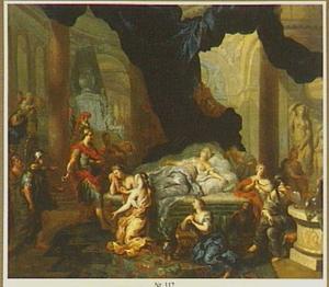 Augustus aan het sterfbed van Cleopatra