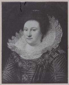 Portret van Catharina van den Bergh (1578-1640)