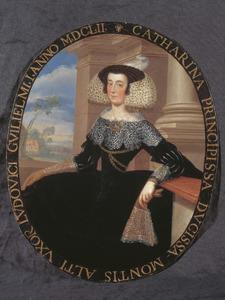 Portret van Caterina Moncada, hertogin van Montalto (?-1659)