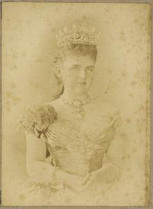 Portret van Emma van Waldeck-Pyrmont (1858-1934)