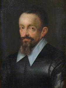 Portret van een man, mogelijkerwijs Johannes Kepler