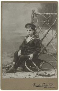 Portret van Philip Maurits van der Haer (1877- )