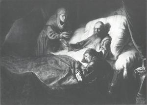 Isaac zegent Jacob