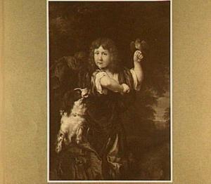 Portret van een jongen, wellicht een lid van het geslacht Huydecoper