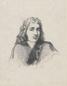 Portret van de beeldsnijder Francis van Bossuit (1635-1692)
