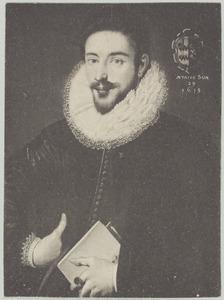 Portret van Wouter van Slingelandt (1580- )