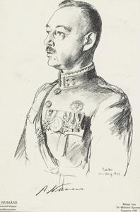 Portret van Anthonie Numans (1880-1949)