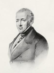 Portret van Floris Adriaan van Hall (1791-1866)