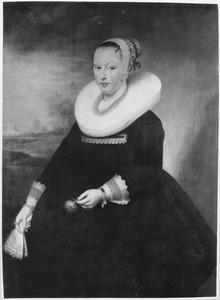 Portret van Margaretha (Grietje) Coninck (....-1657)
