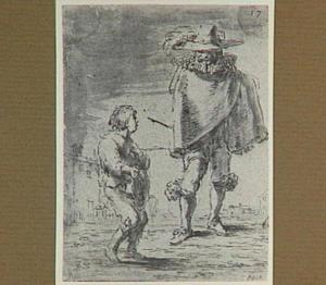Lazarillo wordt dienaar van een voorname heer (Lazarillo de Tormes dl. 1, cap. 11, p. 29)