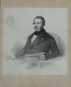 Portret van Willem van Loon (1827-1890)