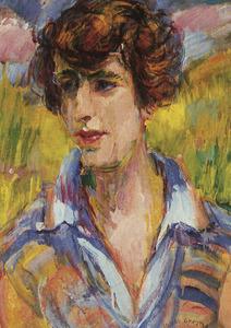 Portret van Jacoba Gijsberta de Lange (1897-1974)