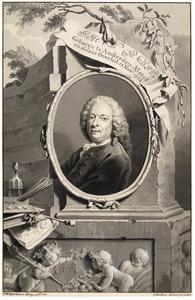 Portret van de kunstenaar Jacob de Wit (1695-1754)