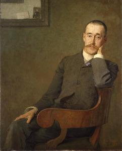 Portret van Franc van der Goes (1859-1939)