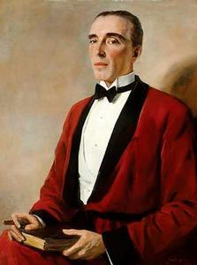 Portret van Theodore William Holzapfel Ward (1889-1955)