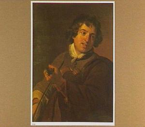 Een jonge man die viool speelt