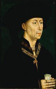 Portret van Philips 'de Goede' van Bourgondië (1396-1467)