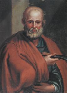 De heilige Bartholomëus