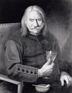Portret van Jan Kuijper (1648-1749)