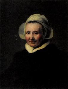 Portret van een vrouw, mogelijk Aeltje Petersdr Uylenburgh (?-1644)