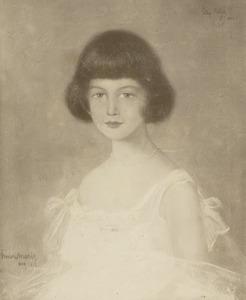 Portret van Elly Polak