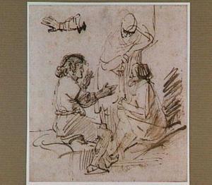 Jozef verklaart in de gevangenis de dromen van de bakker en de schenker van farao (Genesis 40)