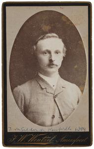 Portret van David Mattheus van Gelder de Neufville (1858-1938)