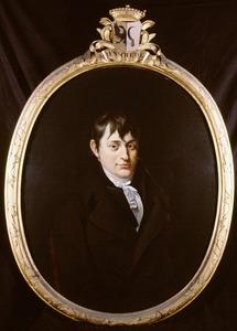 Portret van Johannes III Enschede (1785-1866)