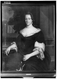 Portret van Sibylla de Hondt (1671-1724)