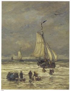 Thuiskomst van de vissers