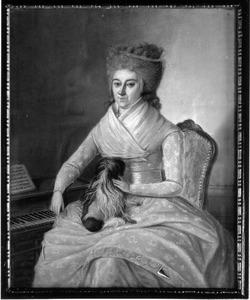 Portret van Anna Sara Vromans (1747-1820)