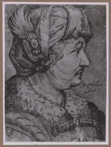 Portret van de schelpenverzamelaar Jan Govertsen van der Aer (1545-1612)