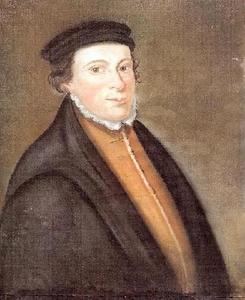 Portret van Jan de Bakker (Johannes Pistorius) (1499-1525)