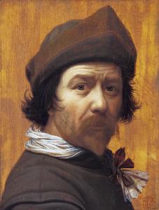 Zelfportret van Huijgh Pietersz. Voskuijl (1591-1665)