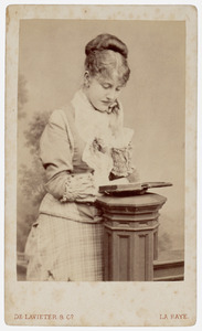 Portret van Catharina Louise Carolina van Zuylen van Nyevelt (1860-1950)
