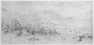 Alpenlandschap met meer