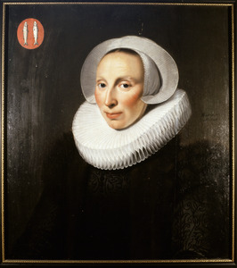 Portret van Margaretha van Voorstadt