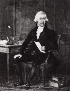 Portret van Daniel Nicolaas van Oudendorp Chimaer (1762-1807)