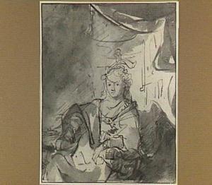 Portret van een vrouw (Saskia?)