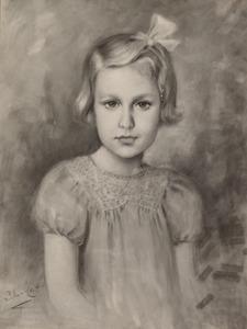 Portret van Wilhelmina Elisabeth Gustavine Baud (1935- )